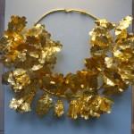 Couronne en or avec des feuilles de chêne, une abeille et deux cigales, Grèce, -350/-300, Dardanelles, British Museum