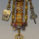Châtelaine avec montre, or et argent, Paris 1775-76, British Museum