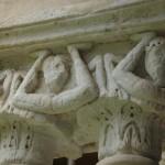 Chapiteau byzantin, XIIème siècle, cloître de Céfalu, Sicile