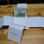 Livre d'artiste, texte et conception Ania Skliar